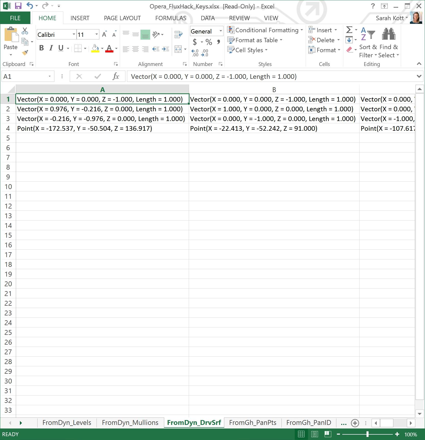 Excel-DrvSrf