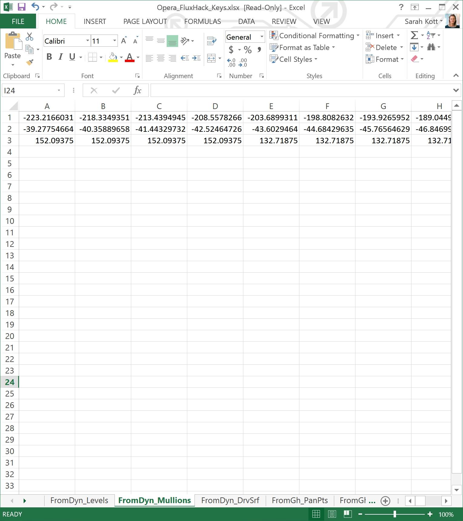 Excel-Mullions