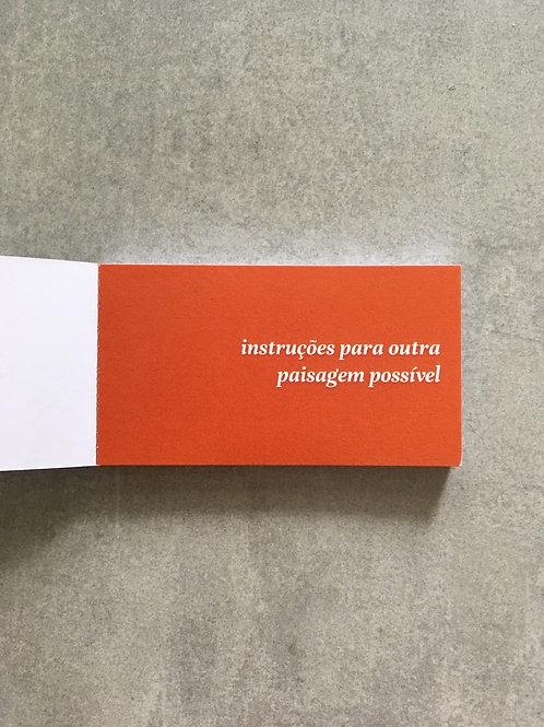 Instruções para outra paisagem possível_ Ana Paula Garcia