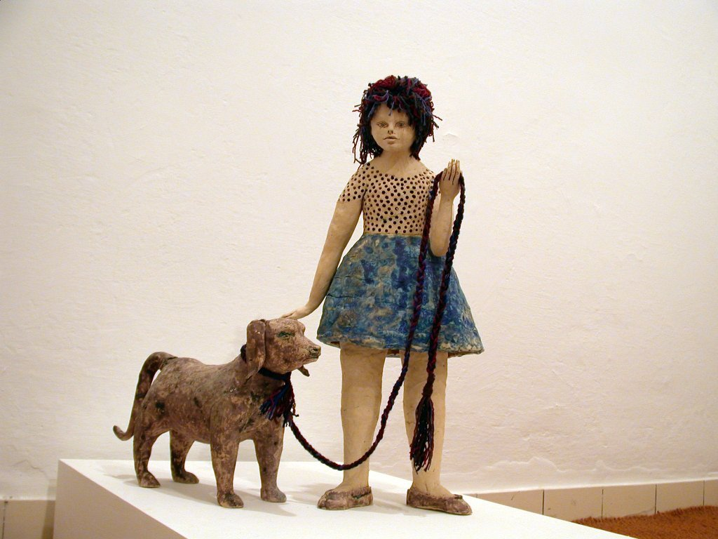 no3.Girl with A Dog (blue).jpg