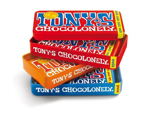 Stapelblik Tony's Chocolonely