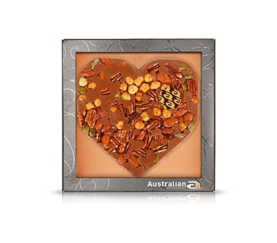 Chocolate hart melk - exclusive nuts