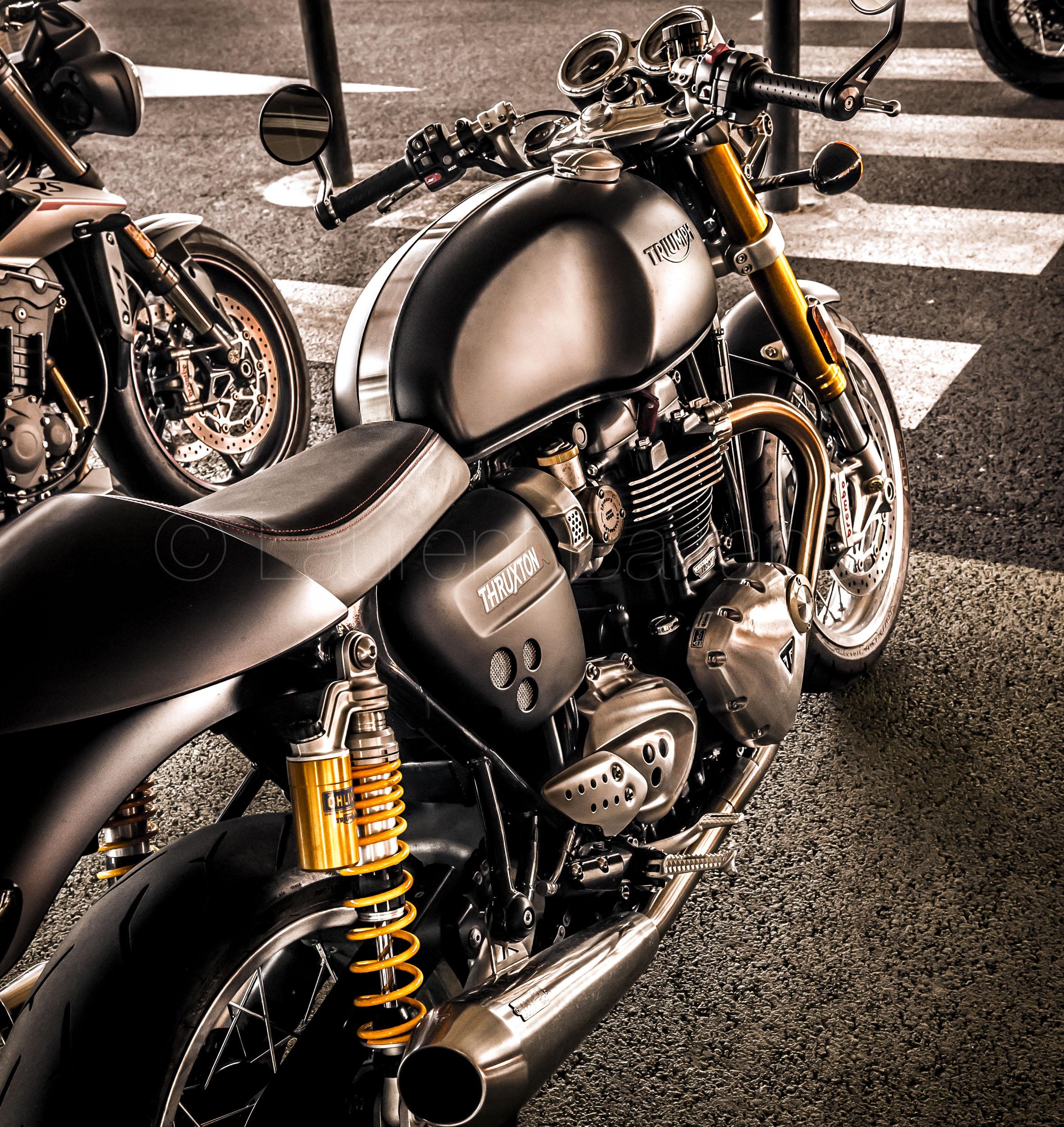 Triumph Bonnie & Ride