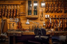Atelier luthier à Toulouse