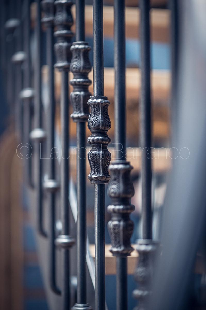 Détail d'un escalier AtmosFer - Photo d'architecture et décoration