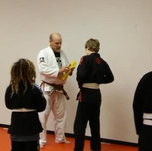Awarding Youth Yellow