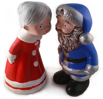Santa Klausner & Mrs. Claus