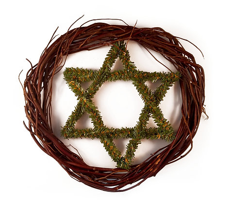 Jewish Star Wreath