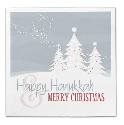 Hanukkah & Christmas Napkins