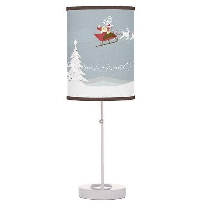 Chrismukkah Scenic Lamp