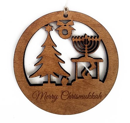Interfaith Scene Ornament