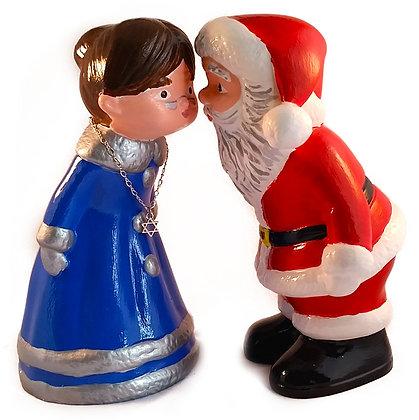 Santa Claus & Mrs. Klausner