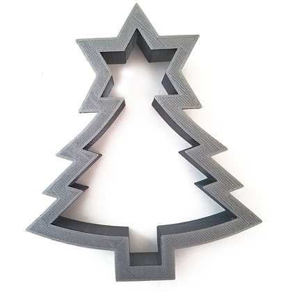 Christmas Tree & Star of David Cookie Cutter