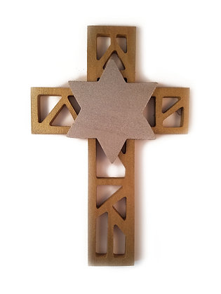 Cross & Star Wall Art