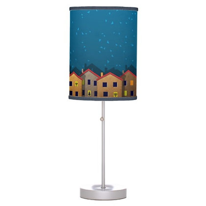 Chrismukkah Village Lamp