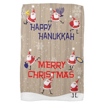 Chrismukkah Kitchen Towel