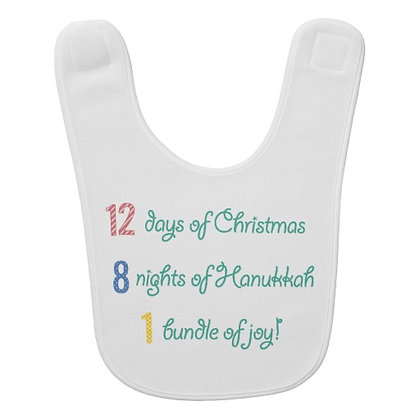 Winter Holiday Bib