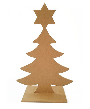 Paint-Your-Own Chrismukkah Tree
