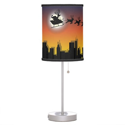 Chrismukkah City Lamp