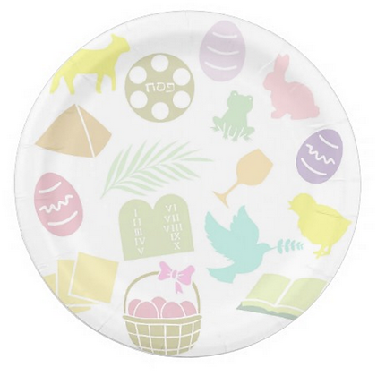 Passover & Easter Plates