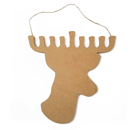 Paint-Your-Own Chrismukkah Reindeer