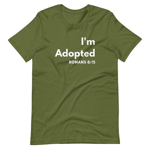 I'm Adopted- Short-Sleeve Unisex T-Shirt