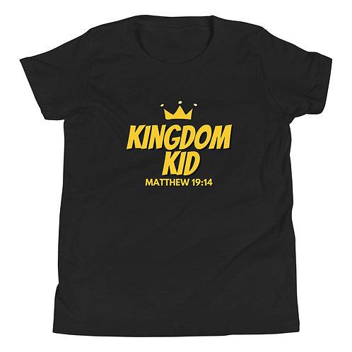 Kingdom Kid Boy's Youth Short Sleeve T-Shirt