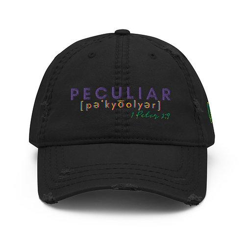 Peculiar People Distressed Dad Hat