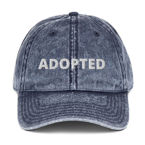 Adopted Vintage Cotton Twill Cap