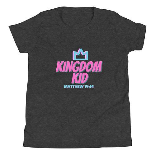 Kingdom Kid Girls Short Sleeve T-Shirt