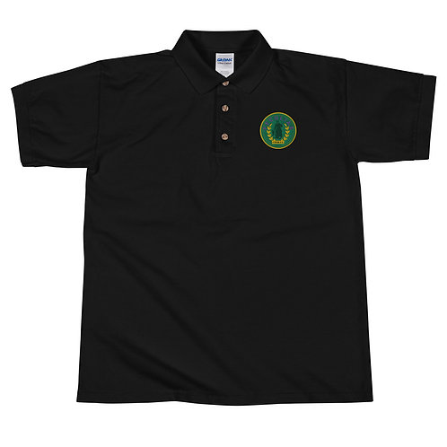 Peculiar Embroidered Polo Shirt
