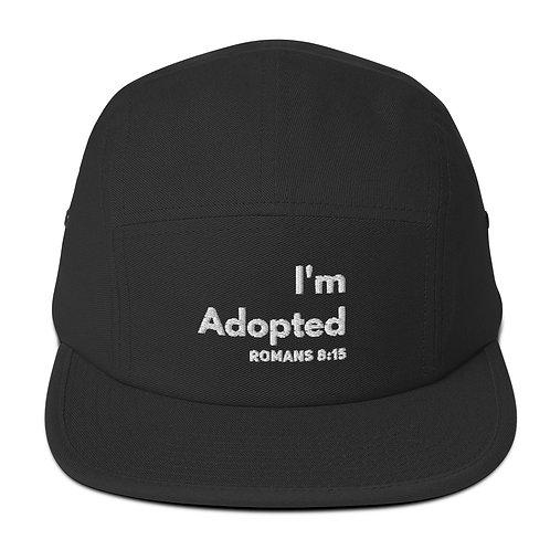 I'm Adopted Five Panel Cap