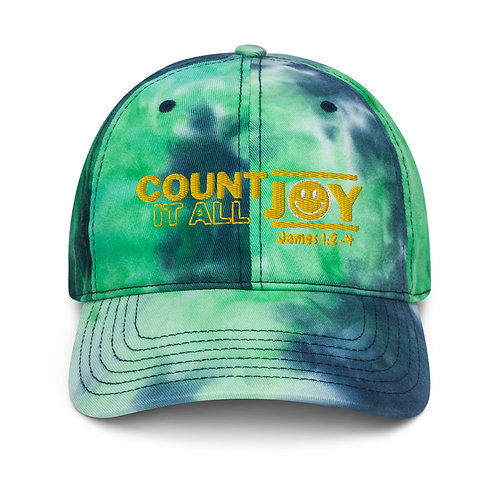 Count it all Joy Tie dye hat