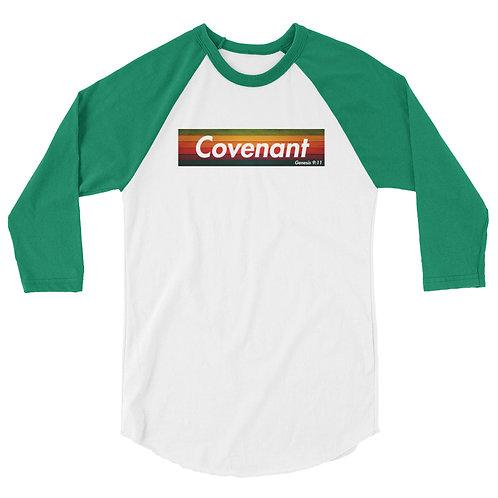 Covenant 3/4 sleeve raglan shirt
