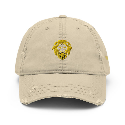 Lion/Lamb Distressed Dad Hat