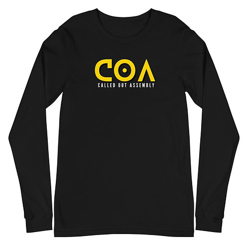 COA (Called Out Assembly) Unisex Long Sleeve Tee