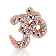 14k Rose Diamond Ohm