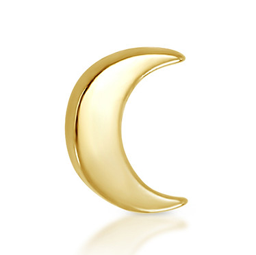 14k Yellow Moon