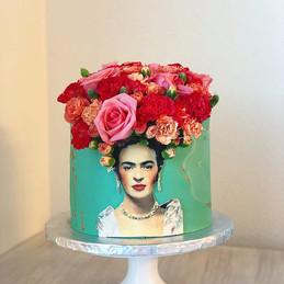 Frida Kahlo's Cake,_#emmacakery #bakinov