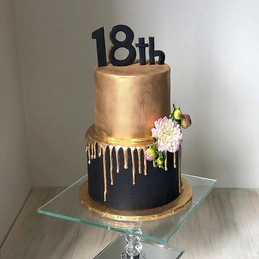 An Elegant, Yet Simple Cake for a Beauti