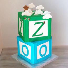 Baby Cube Cake,Yummy Red Velvet Cake by