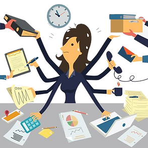 34660152-stock-vector-businesswoman-work