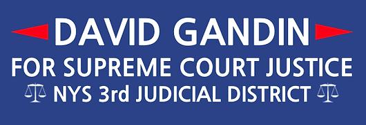 David Gandin For Supreme Court Justice