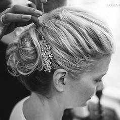 Orlando wedding hair
