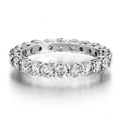 טבעת יהלומים 3