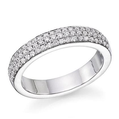טבעת יהלומים 2