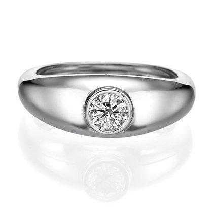 טבעת יהלומים 7