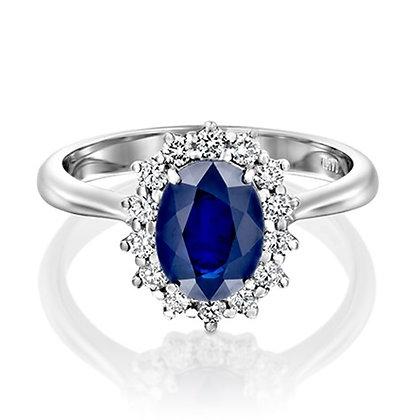טבעת יהלומים 5