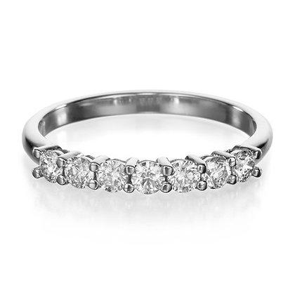 טבעת יהלומים 1