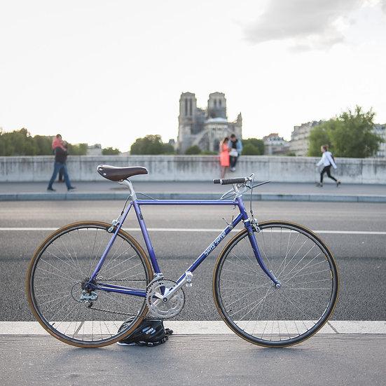 Vélo artisanal Pierre Perrin